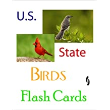 U.S. State Birds Flash Cards