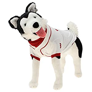 Sporty K9 MLB Boston Red Sox Baseball Dog Jersey, Large