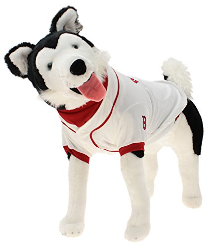 MLB Boston Red Sox Baseball Dog Jersey, Large  - New Design ()