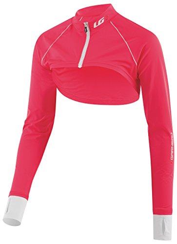 Louis Garneau Womens Top (Louis Garneau Cycling Bolero Top - Women's Diva Pink, M)