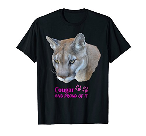 Cougar and Proud of It T-shirt