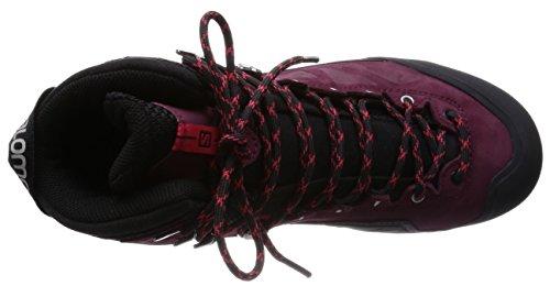 Salomon Black bordeaux L37594600 Pink Bordeaux Nero Escursionismo Donna Da Scarpe Pink lotus black Lotus wRxpw1
