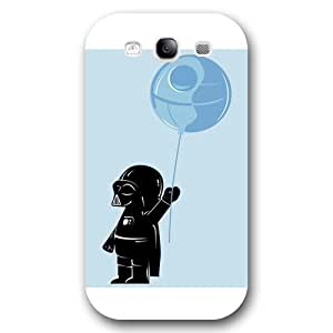 UniqueBox - Customized Personalized White Frosted Samsung Galaxy S3 Case, Star Wars Samsung Galaxy S3 case, Star Wars Han Solo, Death Star, Darth Vader, Logo Samsung Galaxy S3 case, Only fit Samsung Galaxy S3