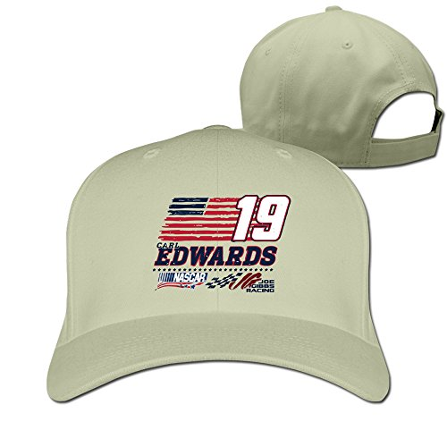 Unisex Edwards 19 Toyota Camry Racing Fitted Hat Natural