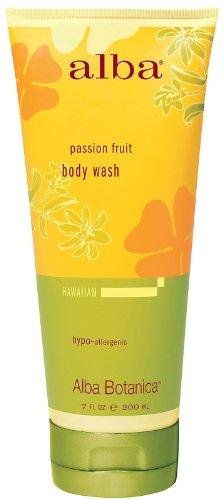Alba Botanica Moisturizing Shower Gel - Alba Botanica Body Wash Passion Fruit 7 Fz