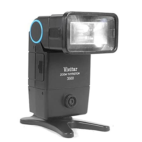 amazon com vivitar zoom thyristor 3500 camera flash on camera rh amazon com vivitar 3500 zoom thyristor flash manual Vivitar Auto Thyristor 273 Flash