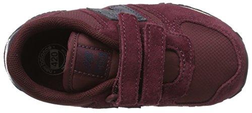 New Balance Unisex-Kinder 420v1 Sneaker Rot (Burgundy)
