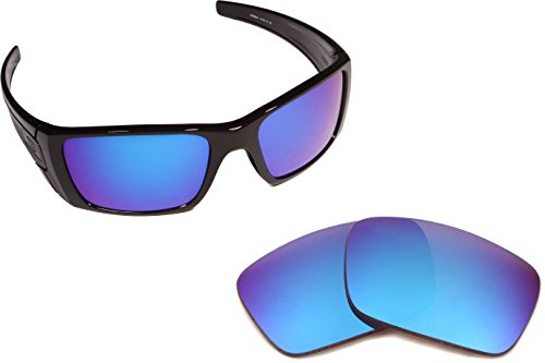 Best SEEK OPTICS Replacement Lenses Oakley FUEL CELL - Polarized Blue - Replica Sunglasses