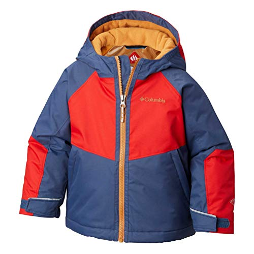 Columbia Toddler Boy's Alpine Action Ii Jacket, 2T, Dark Mountain/Red Spark