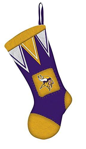 (Team Sports America NFL Minnesota Vikings Stocking, Purple)