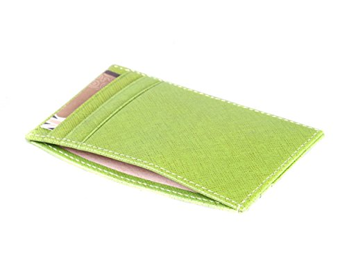 Holder Pocket Flat Card SAGEBROWN Lime SAGEBROWN With Credit Flat Middle TcvXnnW18