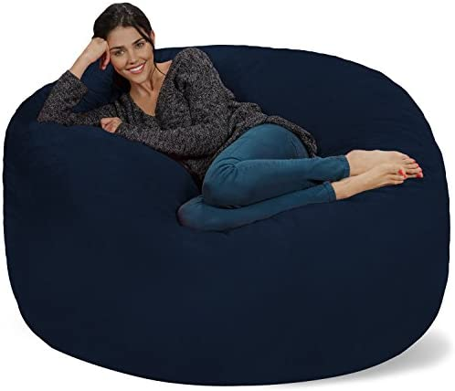 picture of Chill Sack Bean Bag Chair: Giant 5' Memory Foam Furniture