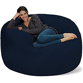 Chill Sack Bean Bag Chair Giant 5 Memory Foam Furniture
