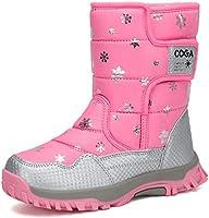 Mishansha Girls Boys Toddler/Little Kid/Big Kid Winter Snow Boots Warm Waterproof Anti-Slip Anti-Collision Hight-Cut for...