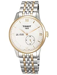 Tissot Le Locle Automatic Silver Dial Two-tone Mens Watch T0064282203800