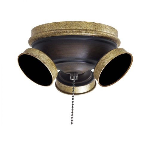 Minka Gold Ceiling Fan - Minka-Aire K9659-MCG, Custom 7 1/2