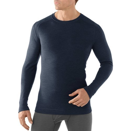 SmartWool Men's NTS Mid 250 Crew Top Black Small by SmartWool (Image #2)