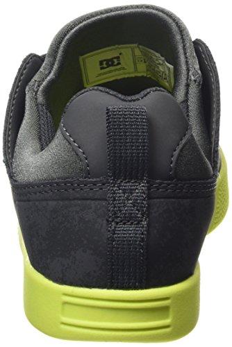 DC ShoesRD JAG M SHOE - pantufla Hombre Gris - Grau (Grey/Yellow GY1)