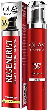 Olay Regenerist Crema Facial De Día Con SPF 30, Fórmula Con Vitamina B3 Y Niacinamida, 24 H De Hidratación, 50 ml