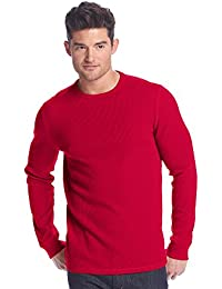"<span class=""a-offscreen"">[Sponsored]</span>Men's Long Sleeve Thermal Crew Neck Tee"