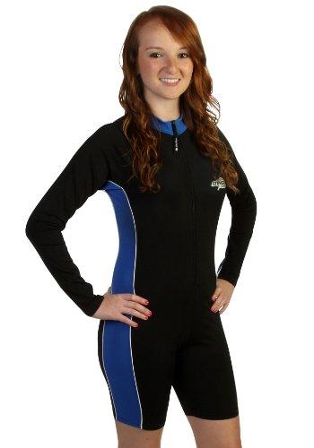 Stingray Long Sleeve Rash Guard Surf Swim Suit For Men
