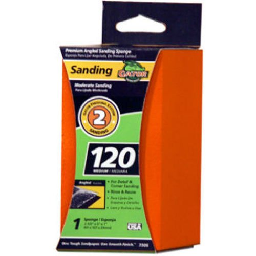 ALI INDUSTRIES 7305 Sanding Sponges 2.5 x 5 x 1