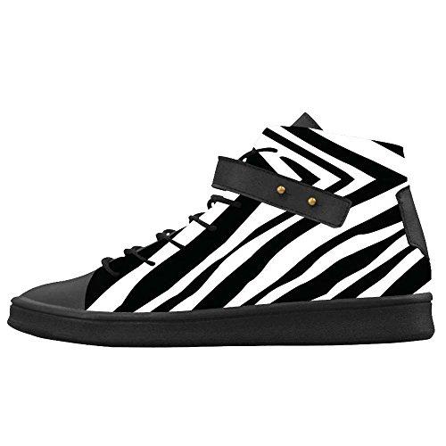 Dalliy zebra stripe Mens Canvas shoes Schuhe Footwear Sneakers shoes Schuhe E