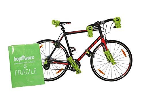 Bopworx Heavy Duty Bicycle Polythene Travel Bag - Ideal Cover For Bike Transportation and Storage by Bopworx (Image #1)
