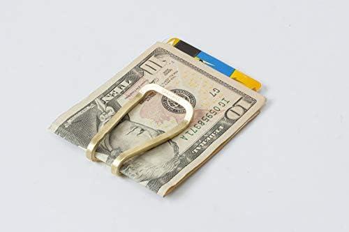 Craighill Square Money Clip Carbon Black
