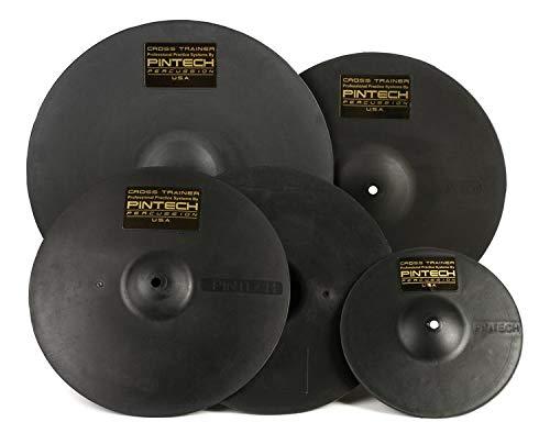 Pintech Percussion XT5P 14'' Hi-Hat Pair, 10'', 16'', 18'', 5 Pack by Pintech Percussion