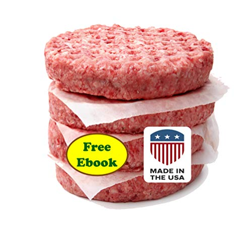 Patty Paper, Burger Wax Sheets: USA Made, FDA Approved: for Origami, Hamburger Press, Deli (5.5