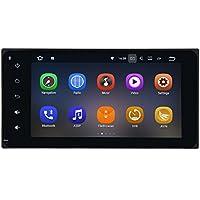 SYGAV Android 7.1 Car Stereo for Toyota Corolla Camry Prado RAV4 Hilux Vios Terios Avanza Fortuner Land Cruiser 100 RunX 7 Inch Touch Screen Radio 2G Ram GPS Sat Navigation Head Unit Bluetooth