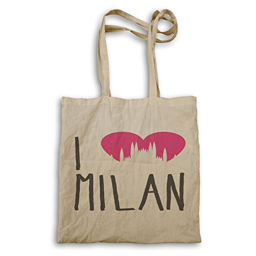I Love Milan Handbag Cc917r