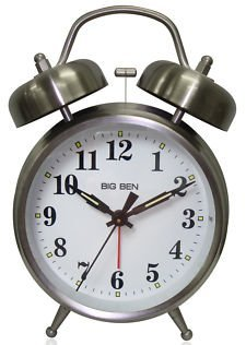 en Twin Bell Alarm Clock ()