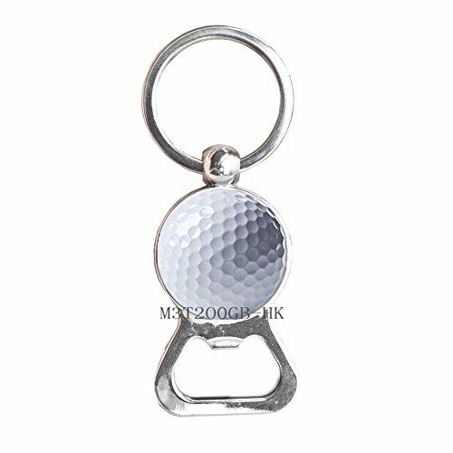 eychain Golf Jewelry Golf Gift Golf Club Gift Golfer Gift Golfer Bottle Opener Keychain Golfer Jewelry Golf Key Ring Golf Charm Sports Bottle Opener Keychain Gift-MT019 ()