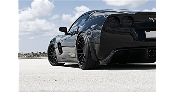 Amazon.com: Chevy C6 Corvette Cartel Z06 Left Rear Close ...