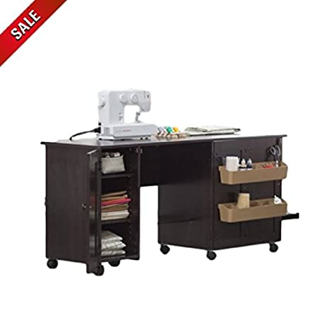 Merveilleux Sewing Machine Table With Wheels Storage Craft Table Sewing Desk Heavy Duty  Portable U0026 EBook By