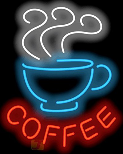 X-tra Large Coffee with Cup Neon Sign ()