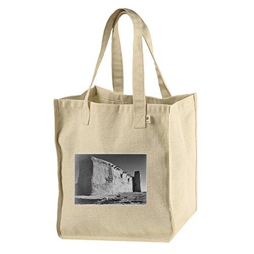 Church Acoma Pueblo 2 (Adams) Hemp/Cotton Canvas Market Bag Tote by Style in Print