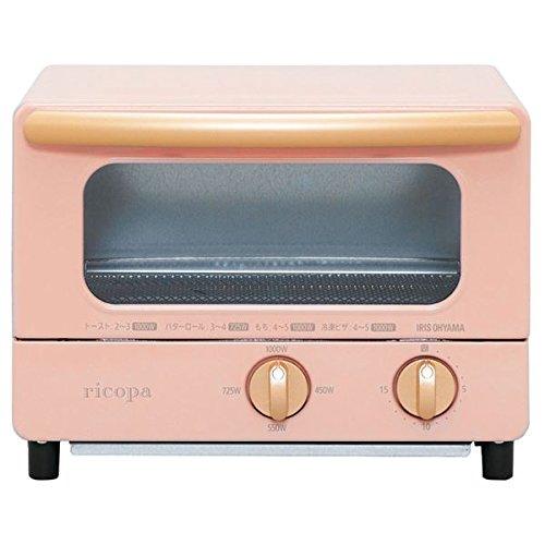 リコパ オーブントースター アッシュピンク 家電 キッチン家電 電子レンジ オーブンレンジ トースター top1-ds-2036753-ah [簡素パッケージ品] B07C2TY1GM