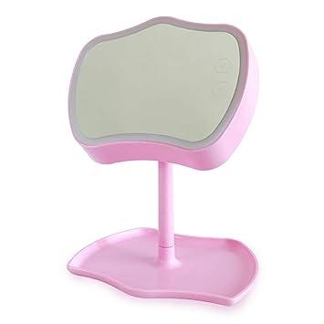 AAFEI Espejo de Maquillaje Led - Lámpara de Mesa Plegable Princess ...