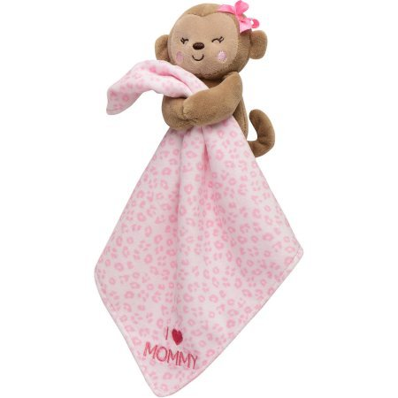 Carters Child Monkey Security Blanket