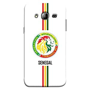 ColorKing Samsung J3 2016 Football White Case shell cover - Fifa Senegal 01
