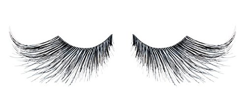 Zinkcolor Black & Silver Mix Fiber False Eyelashes E943 Costume Dance Halloween