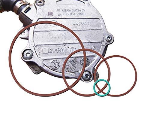 - Vacuum Pump Reseal/Rebuild Kit fit 2.0T MKv, B6, 8P, B7 gasket for VW - Jetta, GTI, GLI, Passat 2005-2008.5/Audi - A3, A4, TT 2005-2008.5,replace the number 06D145100H 06D145100E 06D145117.