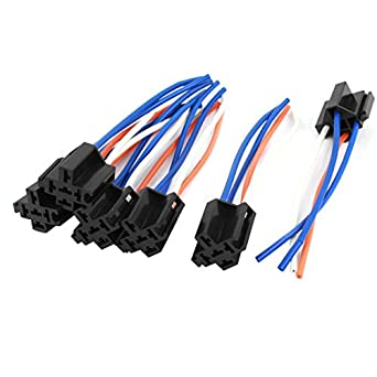 uxcell auto alarm relay harness wire cable 4 pin socket. Black Bedroom Furniture Sets. Home Design Ideas