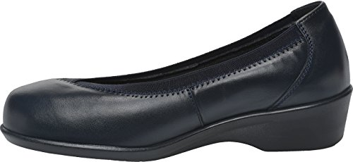 Maggie Cosyfeet Navy Eeeee Extra Leather Fitting Width Roomy Shoes zHxHf