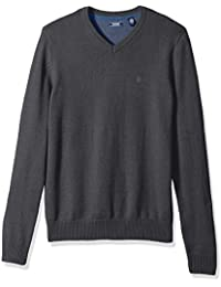 Men's V-Neck 7gg Long Sleeve Sweater