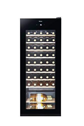 Haier WS50GA – Vinoteca de botellas 50 botellas, Filtros carbono, Filtro anti-uv, Compresor, Iluminación LED, Libre…