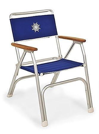 Forma Marine silla, silla de barco de puente, plegable ...